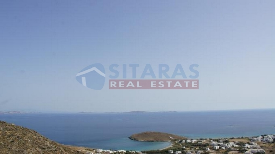 Tinos, parcel of 10.4 acres, 800 m. from a beautiful beach