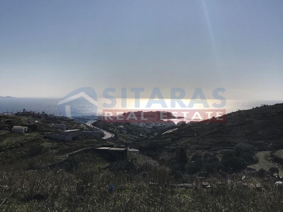 (For Sale) Land Agricultural Land  || Cyclades/Tinos-Exomvourgo - 4.014 Sq.m, 125.000€